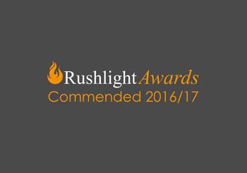 Rushlight Awards Commended 2016/17